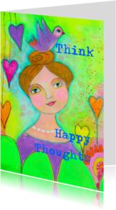 Coachingskaarten - Think Happy Thoughts
