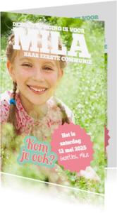 Communiekaarten - Tijdschrift communie-isf