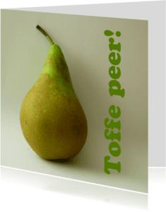 Vriendschap kaarten - Toffe peer!
