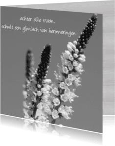 Condoleancekaarten - traan