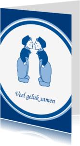 Trouwkaarten - Trouwkaart twee mannen