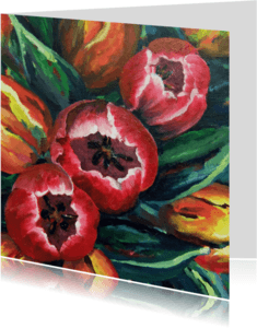 Bloemenkaarten - Tulpen Ana - AW