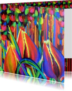 Bloemenkaarten - Tulpfiction - AW