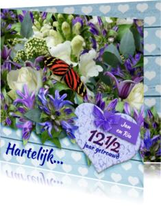 Jubileumkaarten - Twaalf en een half jaar jubileum