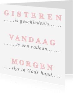 Religie kaarten - Typografische kaart - DH