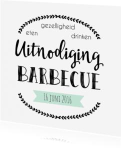 Uitnodigingen - Uitnodiging Barbecue - WW