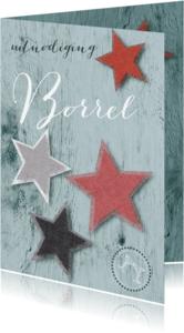 Uitnodigingen - Uitnodiging borrel rond Kerst