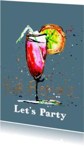 Uitnodigingen - Uitnodiging cocktail party