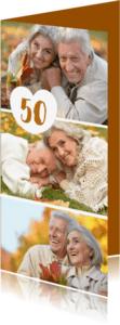 Uitnodigingen - Uitnodiging collage langwerpig - OT