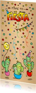 Uitnodigingen - Uitnodiging Fiësta Cactus