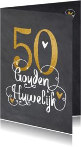 Uitnodigingen - Uitnodiging Gouden huwelijk - LO