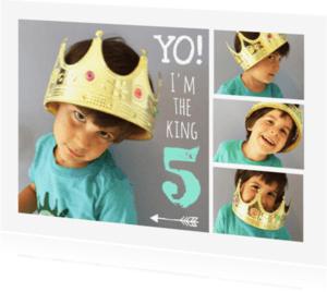 Kinderfeestjes - Uitnodiging kinderfeest collage