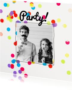 Uitnodigingen - Uitnodiging verjaardag party