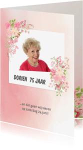 Uitnodigingen - Uitnodiging vrouw verjaardag
