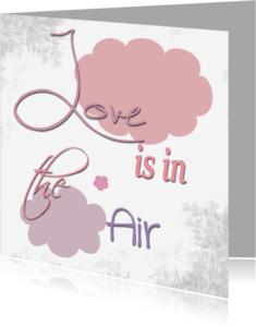 Liefde kaarten - Valentijn Love air