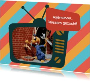 Verhuiskaarten - Verhuis Loeki tv loodgieter  -A