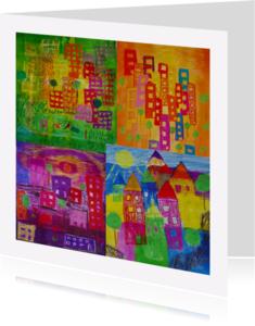 Verhuiskaarten - Verhuiskaart ecoline kleur - AW