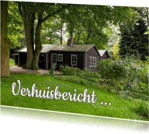 Verhuiskaarten - Verhuiskaart eigen foto huis - OT