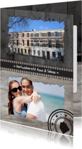 Verhuiskaarten - Verhuiskaart Hout Eigen foto's