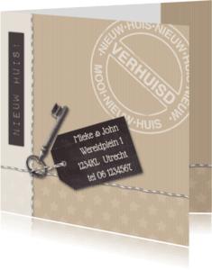 Verhuiskaarten - Verhuiskaart kraftlook av