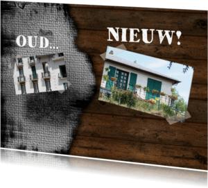 Verhuiskaarten - Verhuiskaart oud en nieuw RB