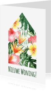 Verhuiskaarten - Verhuiskaart Tropical - WW