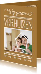 Verhuiskaarten - Verhuiskaart variabele kleur 2 OT