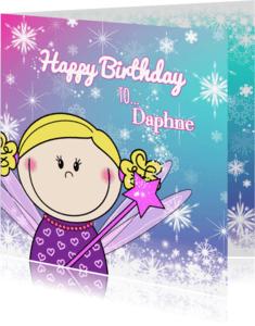 Verjaardagskaarten - Verjaardag lief feetje