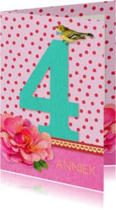 Verjaardagskaarten - Verjaardag Meisje 4