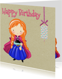 Verjaardagskaarten - Verjaardag Prinsesjes4 - TJ