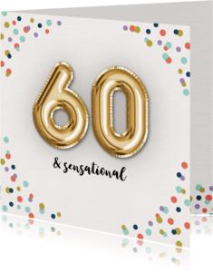 Verjaardagskaarten - Verjaardagskaart Confetti-60