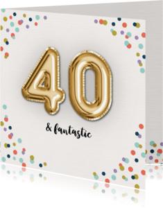 Verjaardagskaarten - Verjaardagskaart Fantastic-40