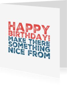 Verjaardagskaarten - verjaardagskaart happy - LB