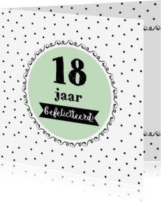 Verjaardagskaarten - Verjaardagskaart leeftijd - WW