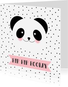 Verjaardagskaarten - Verjaardagskaart Panda - WW