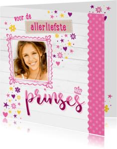 Verjaardagskaarten - Verjaardagskaart Prinses-99