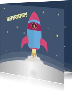 Verjaardagskaarten - Verjaardagskaart SPACE-ciaal!