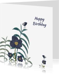 Verjaardagskaarten - Verjaardagskaarten lieve bloemen