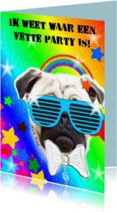 Kinderfeestjes - Vette party hond