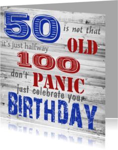 Verjaardagskaarten - vifty-made4you