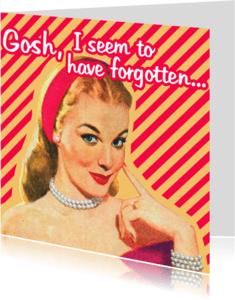 Sorry kaarten - Vintage Forgotten