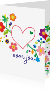 Liefde kaarten - voor jou zomaar liefs -BF