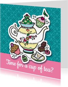 Vriendschap kaarten - Vriendschap - cup of tea?