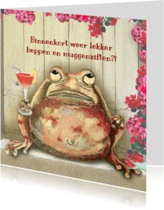 Vriendschap kaarten - Vriendschap - Drankje doen?! -LH
