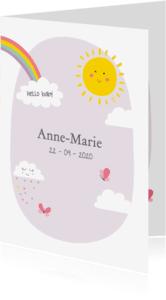 Geboortekaartjes - Vrolijke illustraties - SU