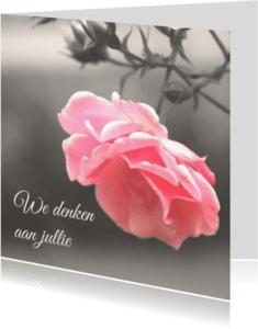 Condoleancekaarten - We denken aan jullie - DH