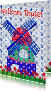 Welkom thuis kaarten - Welkom thuis kaart Holland PA