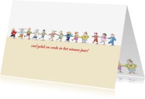 Nieuwjaarskaarten - Wereldkinderen