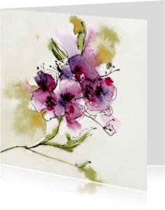 Bloemenkaarten - wilde bloemen