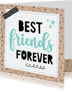 Vriendschap kaarten - Zomaar kaart Friends